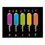 popsicle party postcard