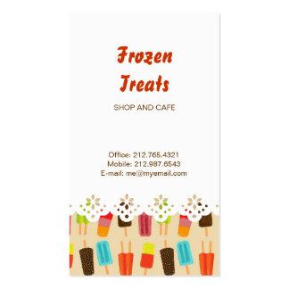 Popsicle Picnic Lace Border Business Card