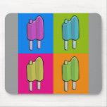 Popsicle Pop Art Mouse Pad