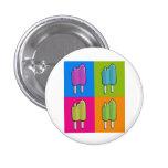 Popsicle Pop Art Pinback Buttons