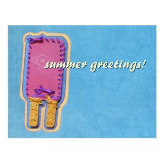Popsicle Postcard