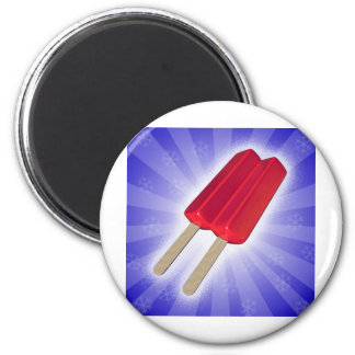 popsicle stand 2 inch round magnet