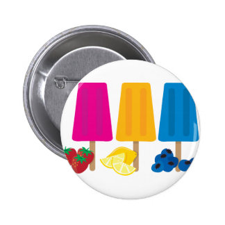 Popsicles 2 Inch Round Button