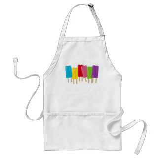 Popsicles and Polka Dots Adult Apron