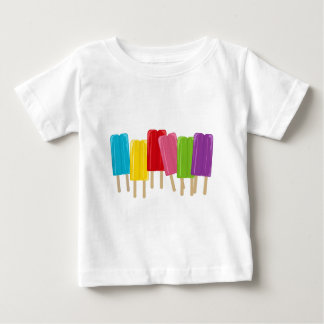 Popsicles and Polka Dots Baby T-Shirt
