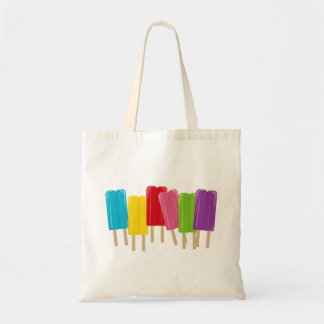 Popsicles and Polka Dots Tote Bag