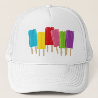 Popsicles and Polka Dots Trucker Hat