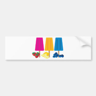 Popsicles Bumper Stickers