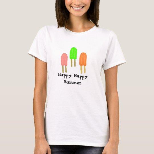 Popsicles - Happy, Happy Summer T-Shirt