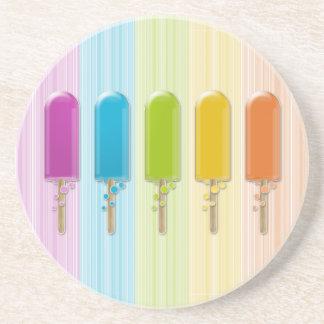 popsicles posavasos diseño