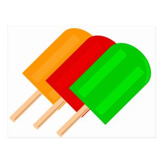 Popsicles Postcard