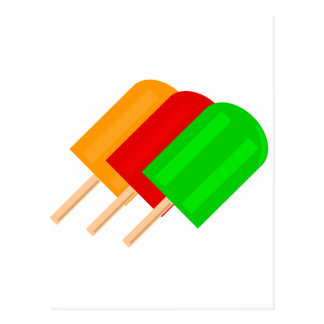 Popsicles Post Card