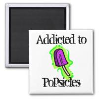 Popsicles Refrigerator Magnet