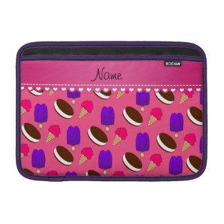 Popsicles rosados conocidos de los bocadillos de fundas para macbook air