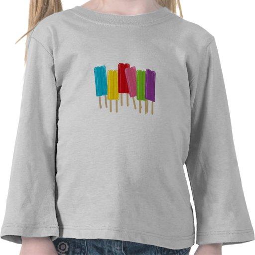 Popsicles y lunares camiseta