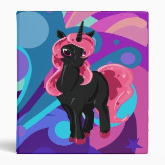 Popstar Unicorn 3 Ring Binders