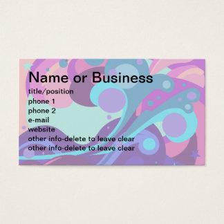Popstar Unicorn Business Card