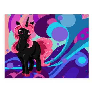 Popstar Unicorn Postcard