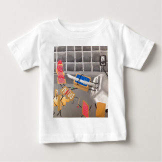 PopTarts vs. Toaster Strudels Baby T-Shirt