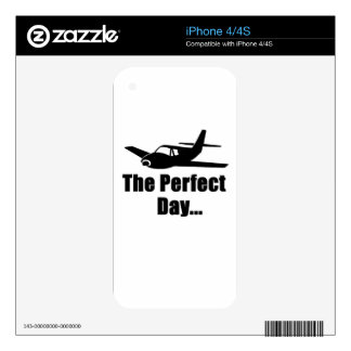 Popular Airplane Skin For iPhone 4S