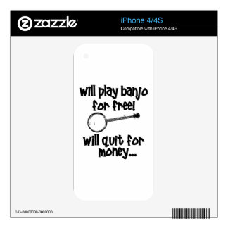 Popular Banjo Skins For iPhone 4S