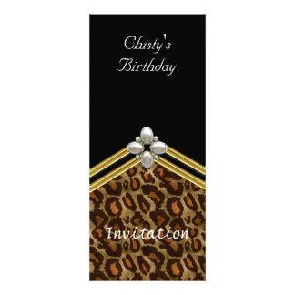 Popular black Thin Invitation Any Birthday Party