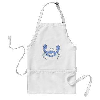 Popular Blue Crabby Crab Unique Cute Gift Present Adult Apron