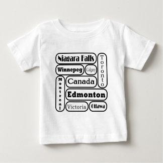 Popular Canadian Cities Shirt