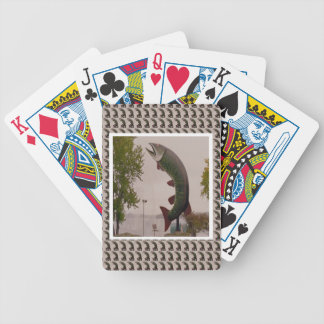 Popular Canadian Landmark Photography Bicycle Playing Cards