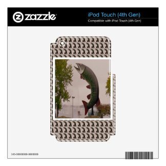Popular Canadian Landmark Photography Skin For iPod Touch 4G