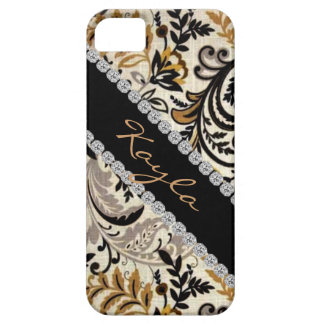 Popular CHIC DAMASK BLING  I phone 5 COVER iPhone 5 Covers