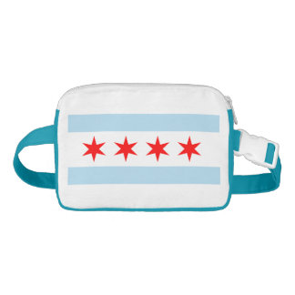 Popular Chicago Flag Waist Bag