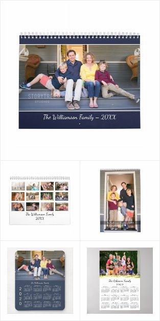 Popular Customizable 2020 Calendar Products