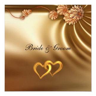 "Popular Elegant  Wedding Invitation 5.25"" Square Invitation Card"