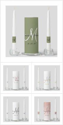 Popular Elegant Wedding Unity Candles