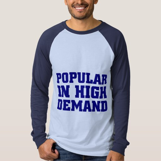 Popular en de mucha demanda playeras