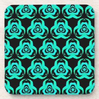Popular Hip Aquamarine Pattern Coaster