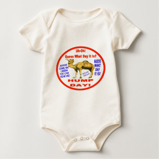Popular Hump Day Camel Emblem Baby Bodysuit