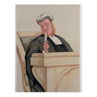 Popular Judgement Postcard