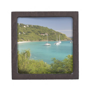 Popular moorings for bareboaters and charter jewelry box