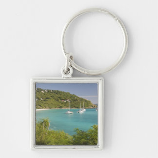Popular moorings for bareboaters and charter keychain