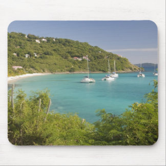 Popular moorings for bareboaters and charter mouse pad