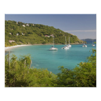 Popular moorings for bareboaters and charter poster