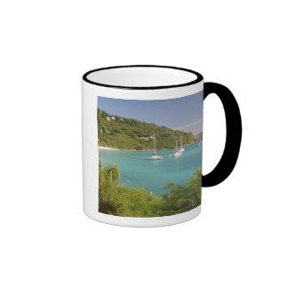 Popular moorings for bareboaters and charter ringer mug