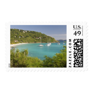 Popular moorings for bareboaters and charter stamp