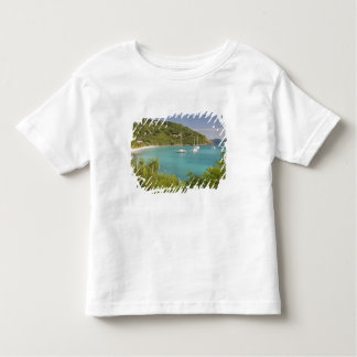 Popular moorings for bareboaters and charter toddler t-shirt