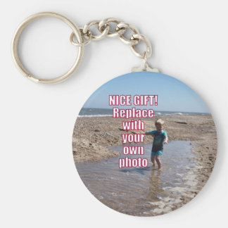 Popular Mother's Day Gift for Mom Upload My Photo Keychains