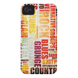 Popular Music Genres and Types on Grunge iPhone 4 Covers