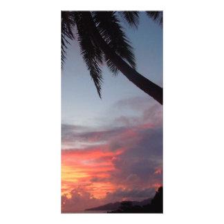 Popular photo card.>Sunrise in Paradise Card