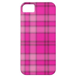 Popular Pink Plaid iPhone 5 Case